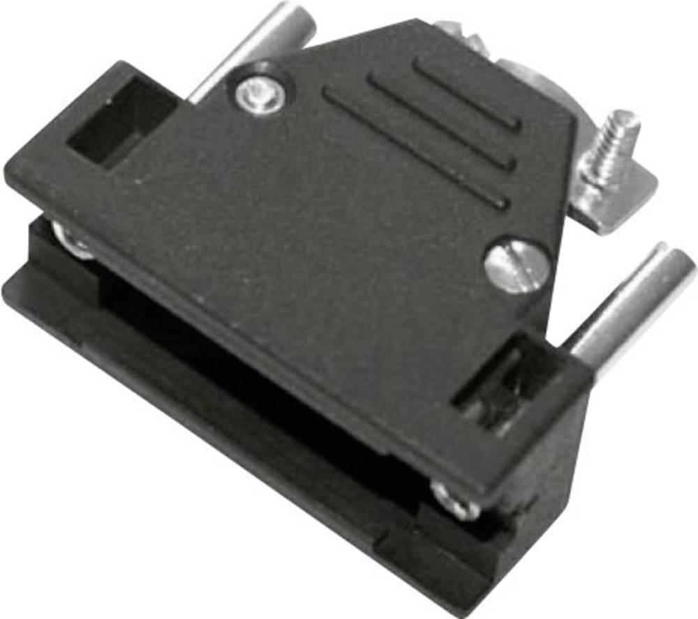 D-SUB ohišje, število polov: 37 iz umetne mase 180 ° črne barve MH Connectors 2801-0102-14-8 1 kos