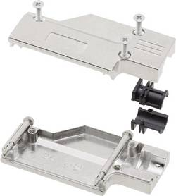 D-SUB-kabinet MH Connectors MHDCMR09-RA-K Poltal 9 90 ° Metal Sølv 1 stk