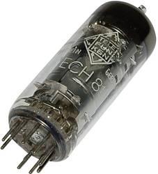 Vacuum tube ECH 81 = 6 AJ 8 = 6I1P Triode heptode 100 V, 160