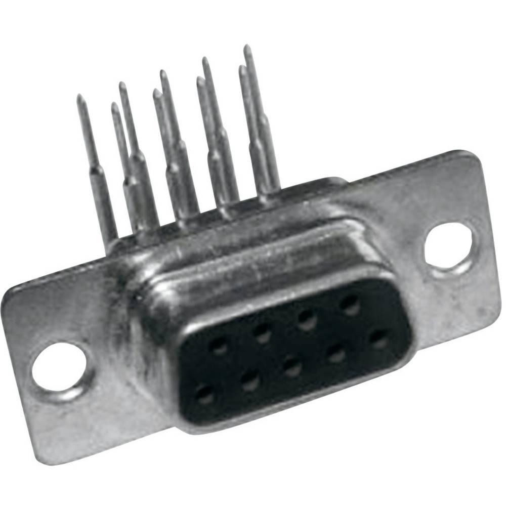 D-SUB vtične letve 90 ° število polov: 9 MH Connectors MHDD9-F-T-B-M-RBM 1 kos