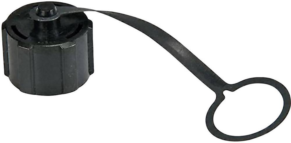 Zaščitni pokrov CAP-WEOFTPC1 črne barve Amphenol LTW 2612-0801-01 1 kos