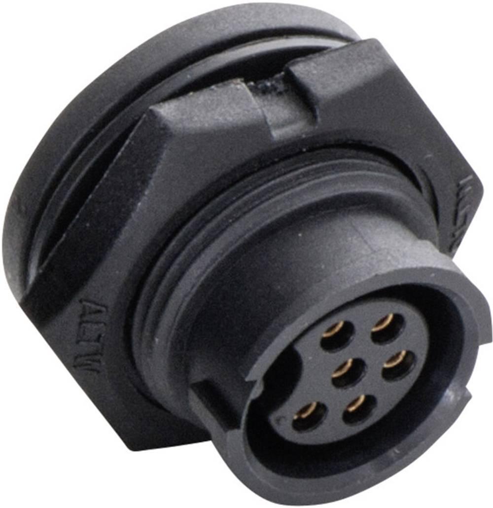 IP67-vtični konektor, poli: 6 z vtičnimi kontakti 5 A 2660-0035-01 Amphenol LTW 1 kos