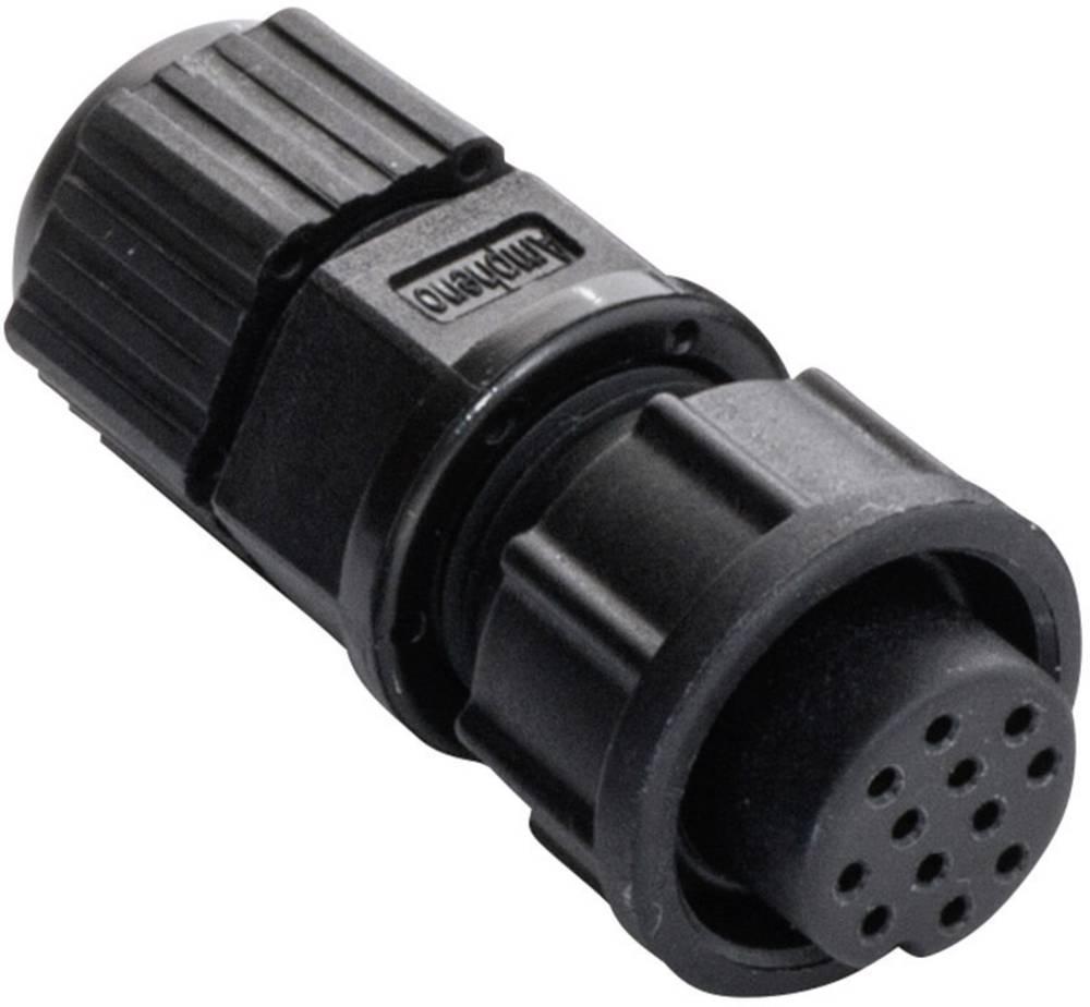 IP67-vtični konektor, poli: 8 5 A 2660-0169-01 Amphenol LTW 1 kos