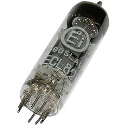 Elektronka ECL 82 = 6 BM 8 trioda-pentoda 100 V, 170 V 3.5 mA, 41 mA št. polov: 9 podnožje: novalno