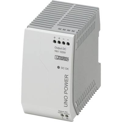 Phoenix Contact UNO-PS/1AC/48DC/100W Rail mounted PSU (DIN) 48 V DC 2.1 A 100 W 1 x