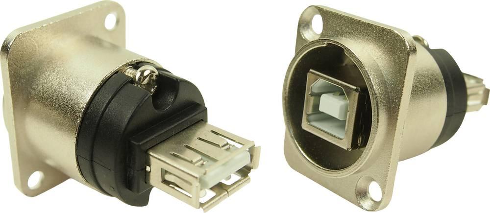 XLR Adapter USB A na USB B Adapter, vgraden CP30111 Cliff vsebuje: 1 kos