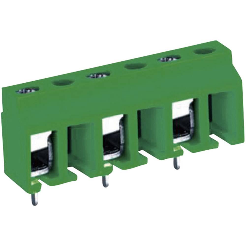 Skrueklemmeblok DECA MA311-10006 Poltal 6 Grøn 1 stk
