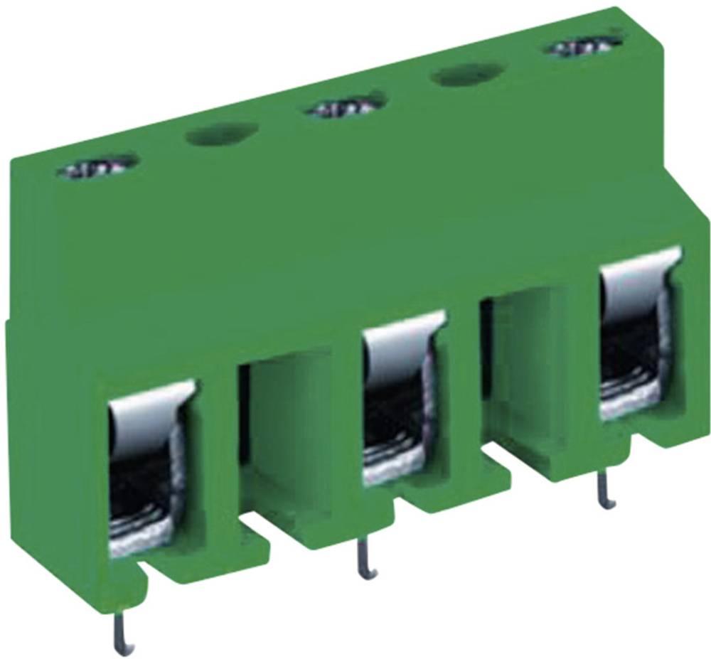 Skrueklemmeblok DECA MA321-10002 2.50 mm² Poltal 2 Grøn 1 stk