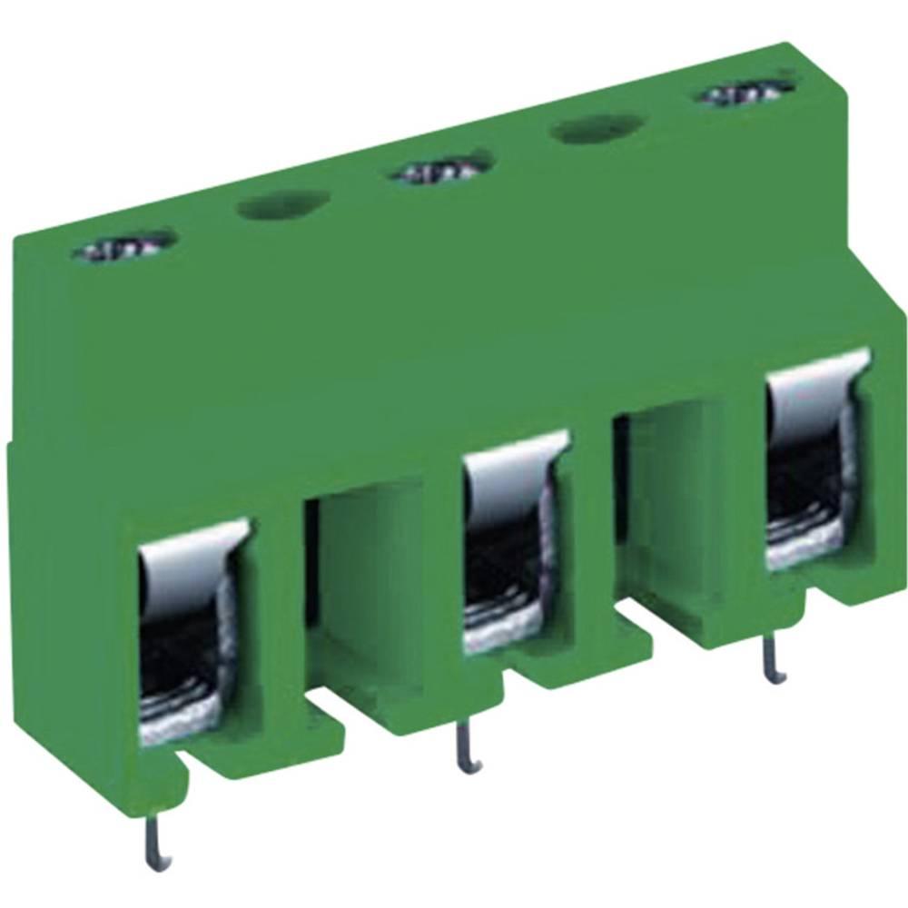 Skrueklemmeblok DECA MA321-10004 2.50 mm² Poltal 4 Grøn 1 stk