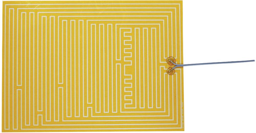 Polyester Varmefolie selvklæbende 12 V/DC, 12 V/AC 35 W Beskyttelsestype IPX4 (L x B) 400 mm x 290 mm Thermo