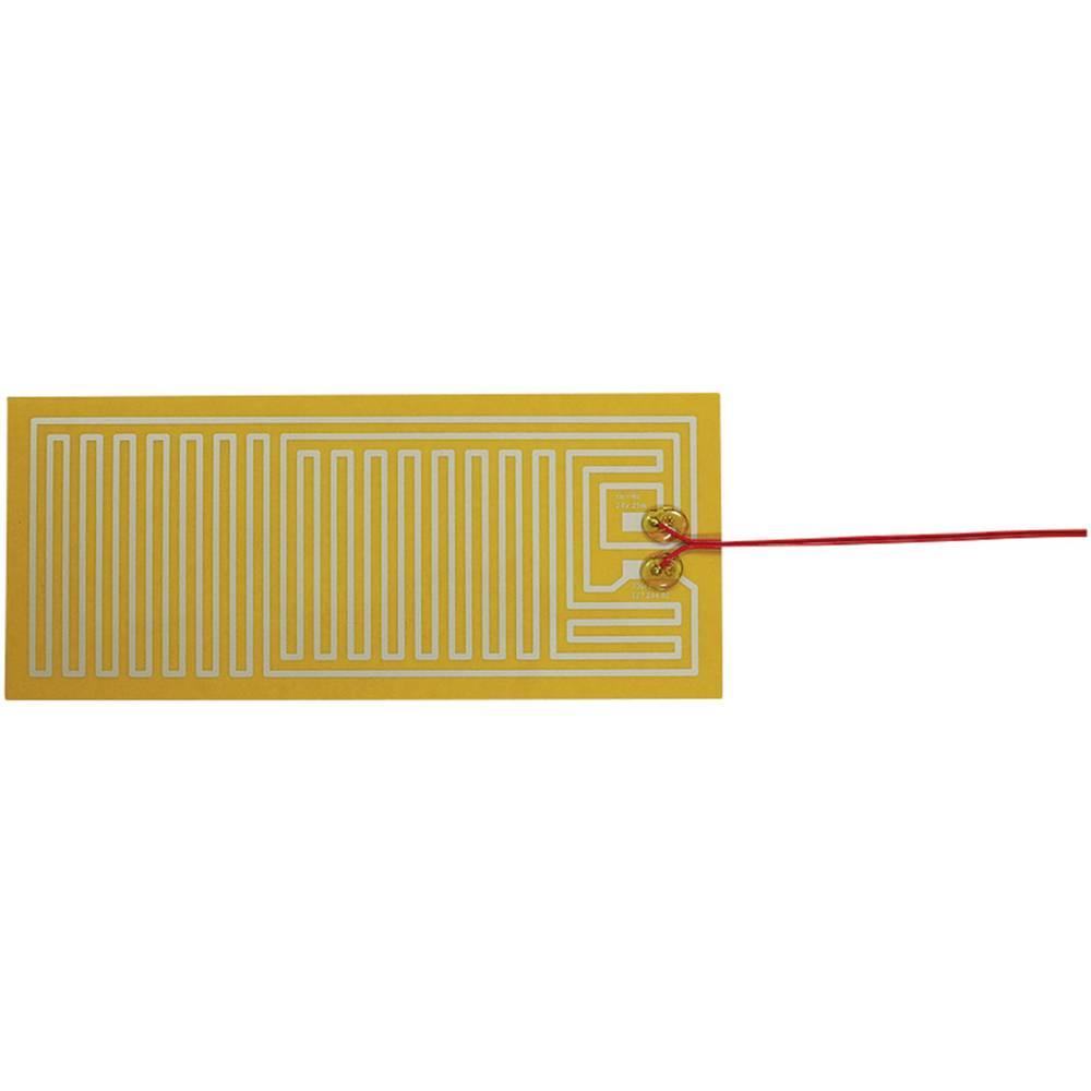 Polyester Varmefolie selvklæbende 24 V/DC, 24 V/AC 25 W Beskyttelsestype IPX4 (L x B) 300 mm x 130 mm Thermo