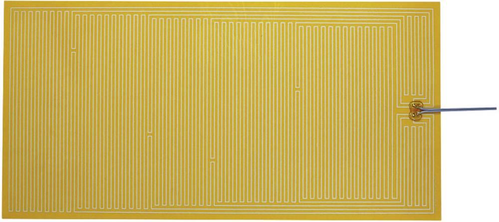 Polyester Varmefolie selvklæbende 24 V/DC, 24 V/AC 24 W Beskyttelsestype IPX4 (L x B) 600 mm x 300 mm Thermo