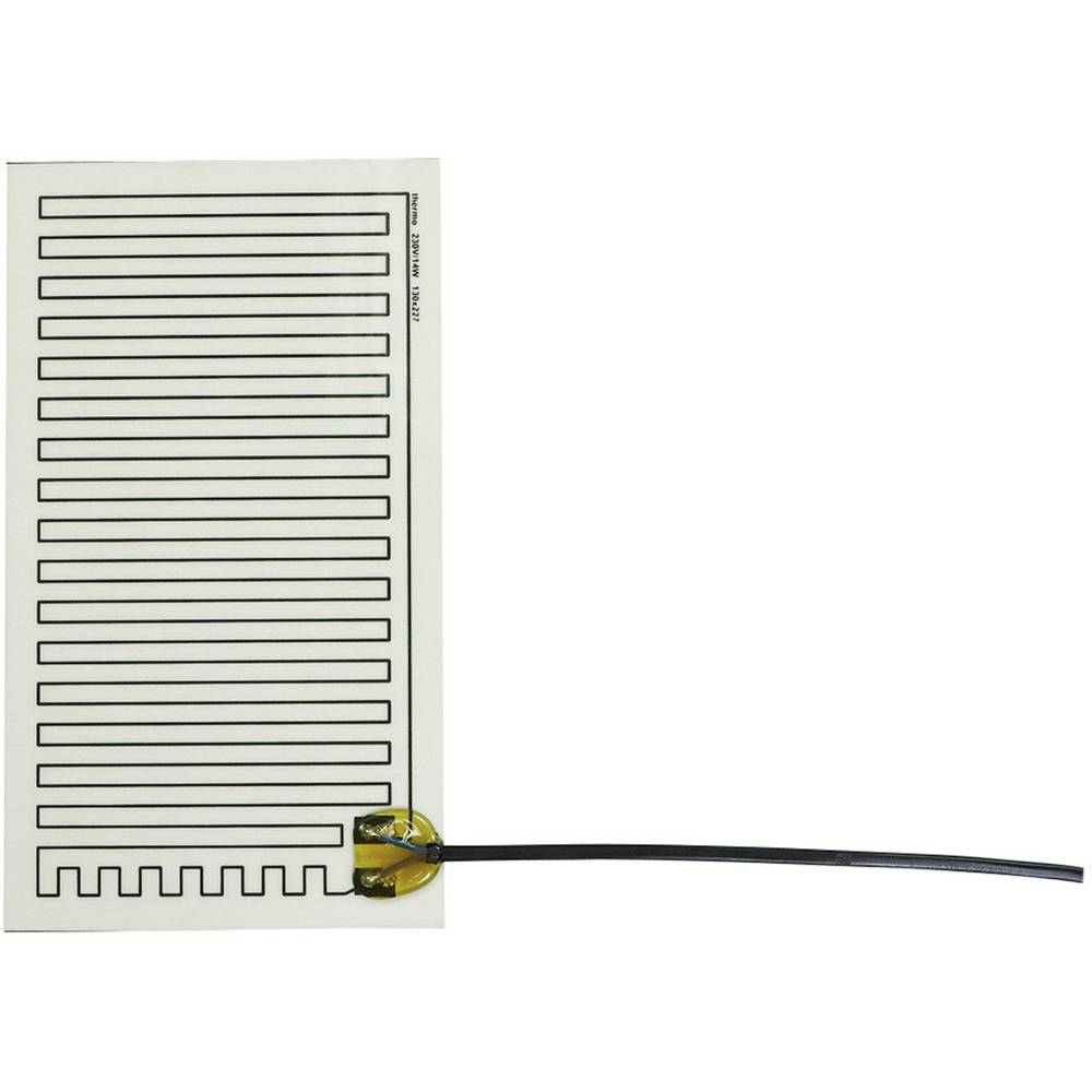 Samolepilna ogrevalna folija 230 V/AC 14 W vrsta zaščite IPX4 (D x Š) 227 mm x 130 mm Thermo