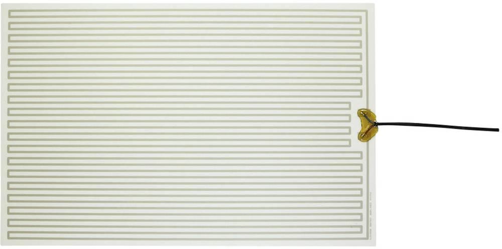 Polyester Varmefolie selvklæbende 230 V/AC 140 W Beskyttelsestype IPX4 (L x B) 490 mm x 320 mm Thermo