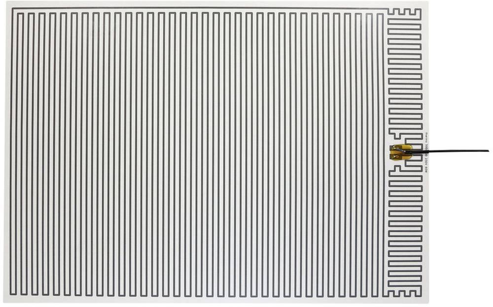 Polyester Varmefolie selvklæbende 230 V/AC 60 W Beskyttelsestype IPX4 (L x B) 700 mm x 500 mm Thermo