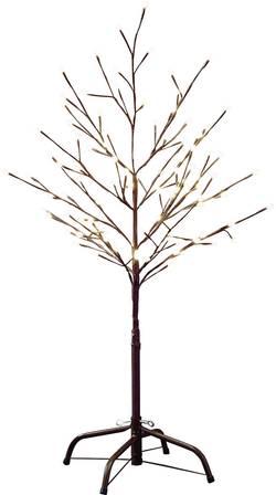 Utomhus LED-design träd Konstsmide 3377-600 Varmvit LED Brun