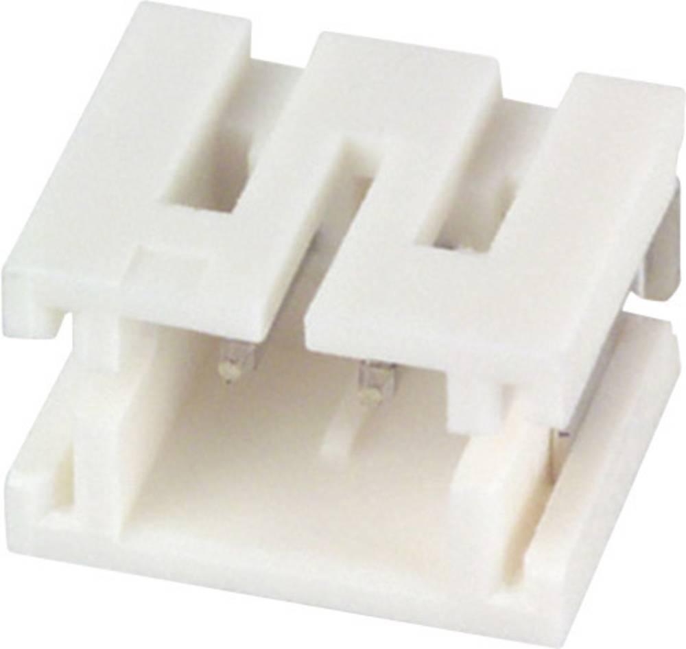 Indbygningsstiftliste (præcision) ZR Samlet antal poler 2 JST B2B-ZR-SM4-TF (LF)(SN) Rastermål: 1.50 mm 1 stk
