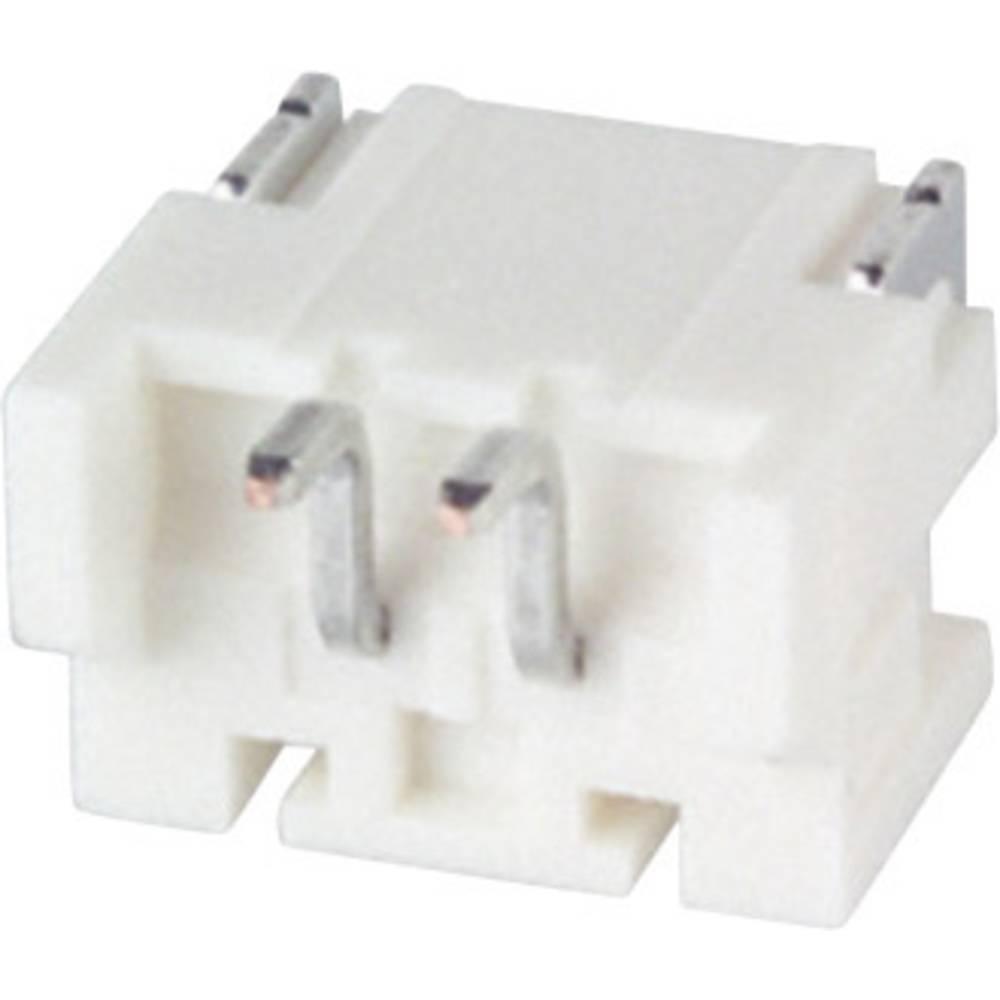 Vgradni pinski konektor (standarden) JST S2B-PH-SM4-TB (LF)(SN), mere: 2 mm 1 kos