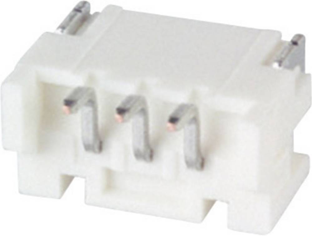 Indbygningsstiftliste (standard) PH Samlet antal poler 3 JST S3B-PH-SM4-TB (LF)(SN) Rastermål: 2 mm 1 stk