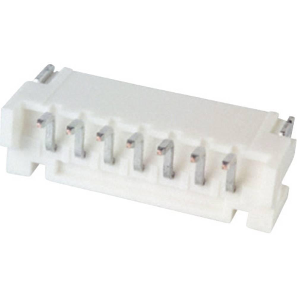 Indbygningsstiftliste (standard) PH Samlet antal poler 7 JST S7B-PH-SM4-TB (LF)(SN) Rastermål: 2 mm 1 stk