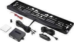 Žičani sustav za parkiranje u držaču registarske pločice, montaža s prednje ili stražnje strane, akustički, optički, Renkforce