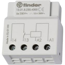 Releji za UP-vtičnice ali stikalne vtičnice Finder 13.31.8.230.4300 230 V/AC zapiralni 12 A 250 V/AC