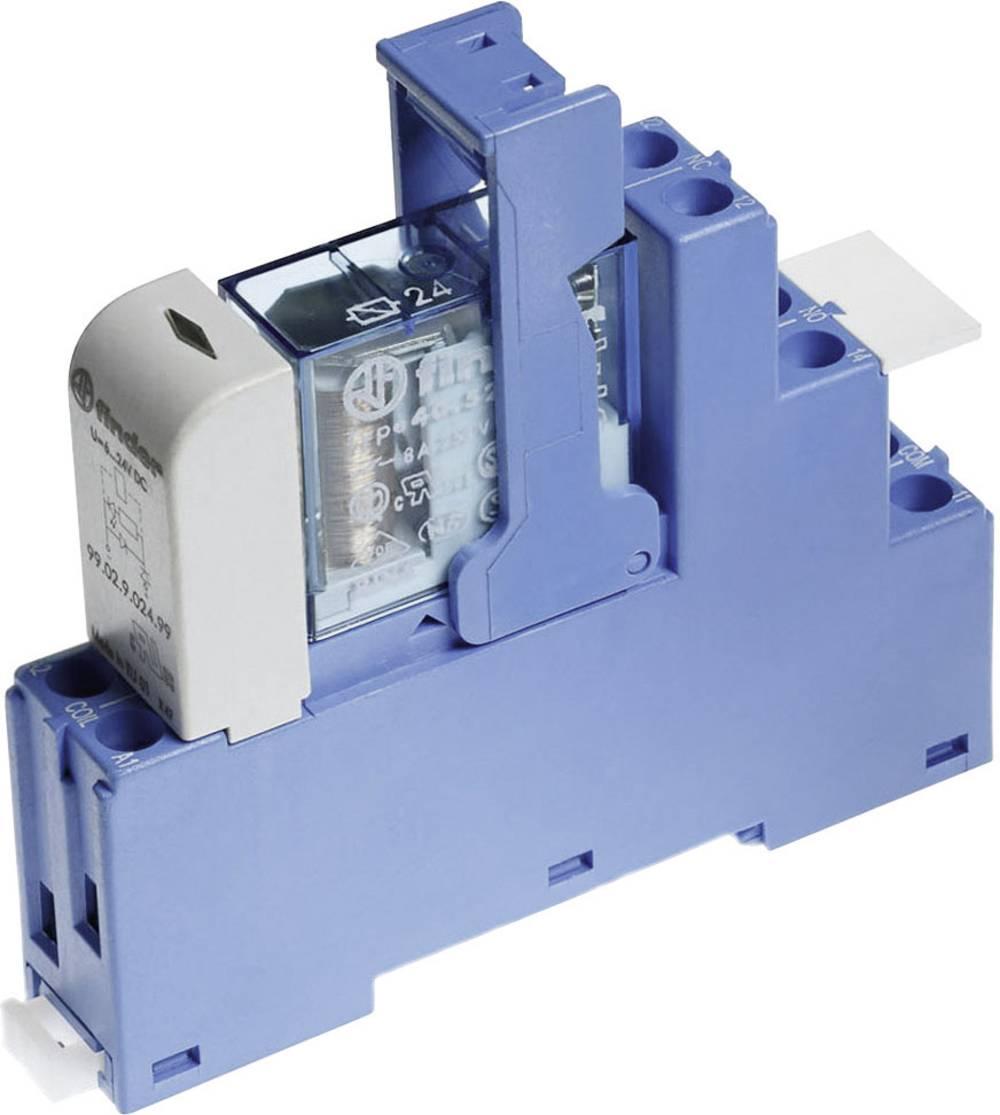 Relækomponent 1 stk Finder 48.52.7.012.0050 Nominel spænding: 12 V/DC Brydestrøm (max.): 8 A 2 x omskifter