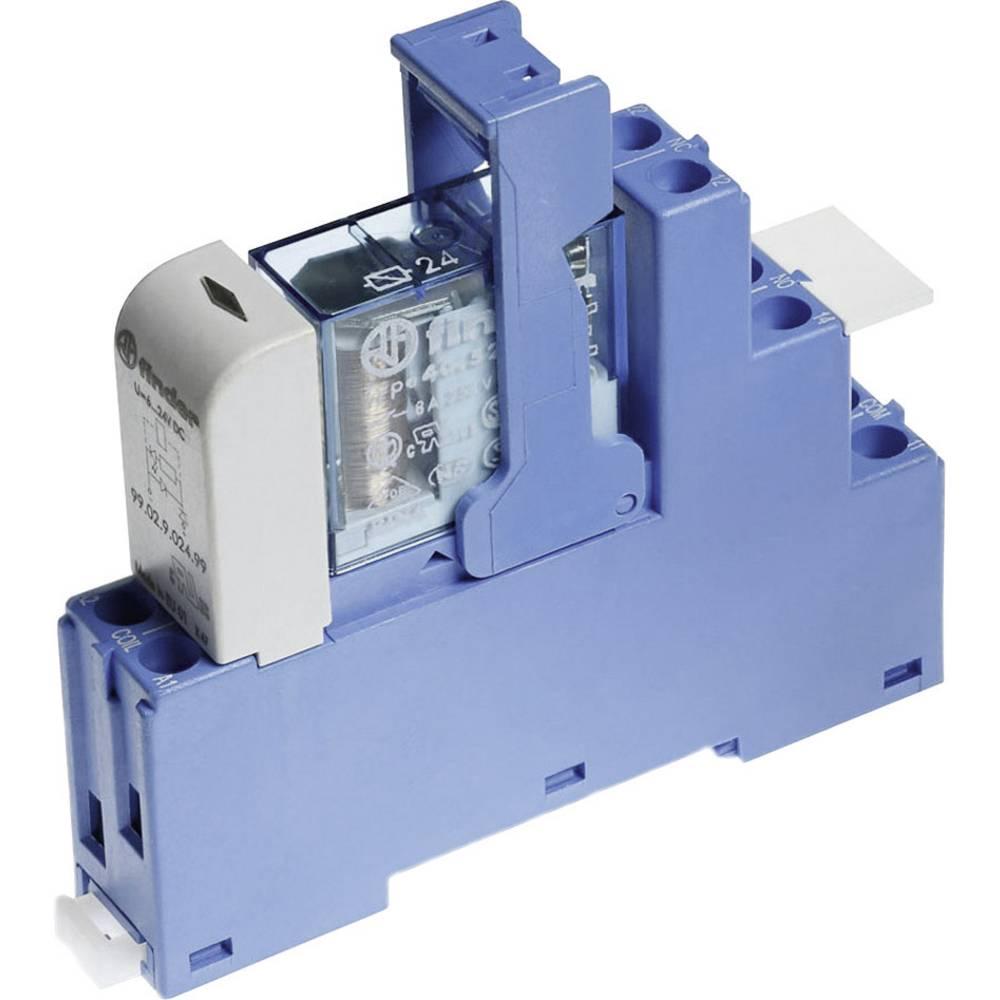Relækomponent 1 stk Finder 48.61.7.012.4050 Nominel spænding: 12 V/DC Brydestrøm (max.): 16 A 1 x skiftekontakt
