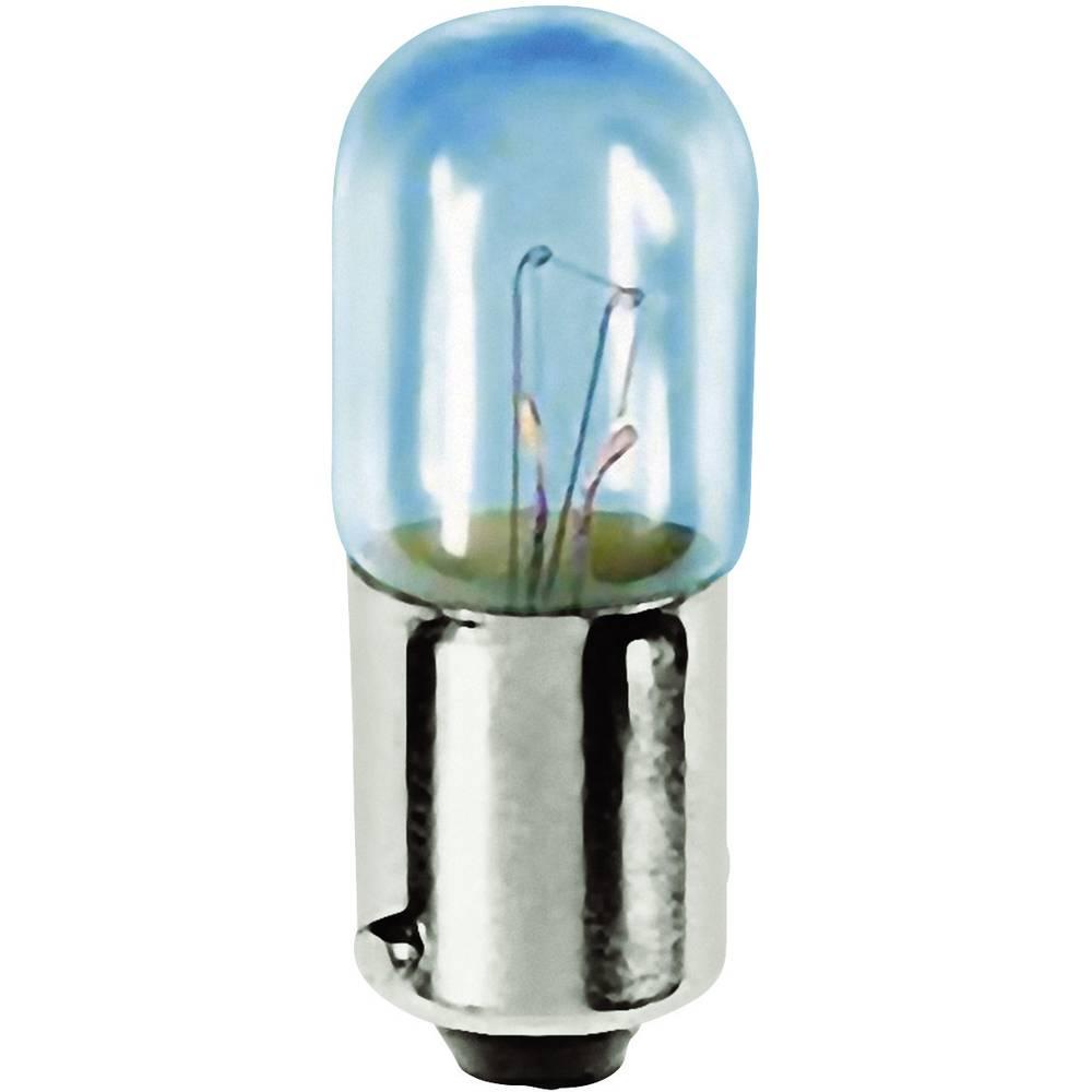 Majhna cevasta žarnica T3 1/4 6.3 V 1.5 W 0.25 A podnožje=BA9s prozorna Barthelme vsebina: 1 kos