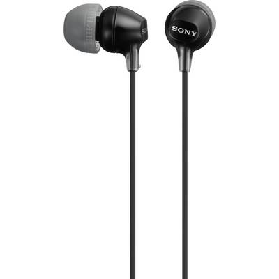 Sony MDR-EX15LP In-ear headphones In-ear Black