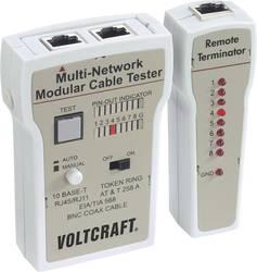 VOLTCRAFT CT-2 Kabeltestapparat, kabeltester til BNC, RJ-11 og RJ-45