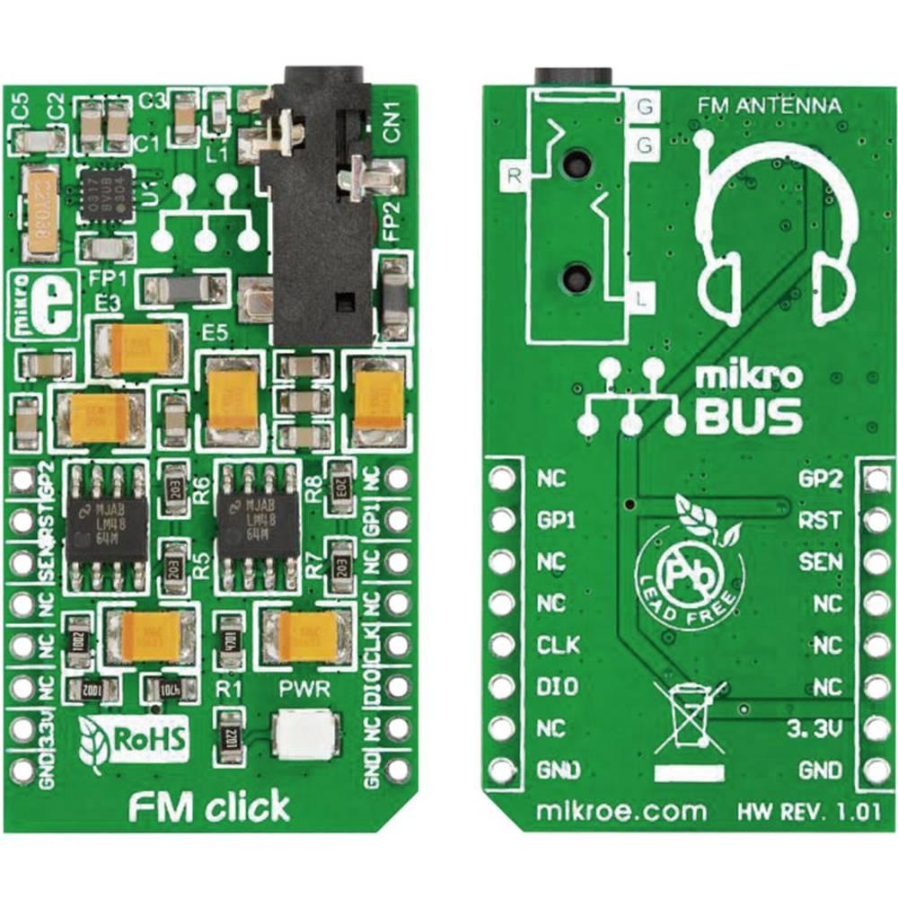 Pcb Extension Board Mikroelektronika Mikroe 1431 From Fm Circuit