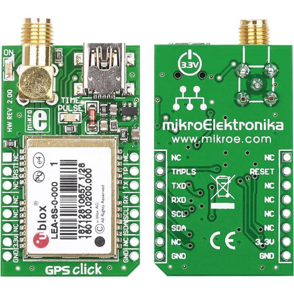 Gps Receiver Pcb Mikroelektronika Mikroe 1032 From Circuit