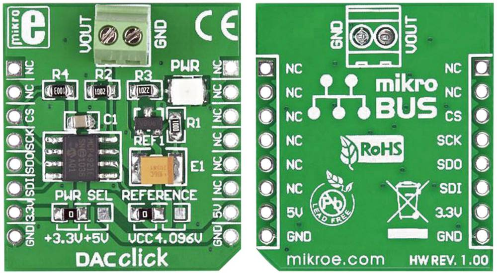 DAC Click MikroElektronika MIKROE-950