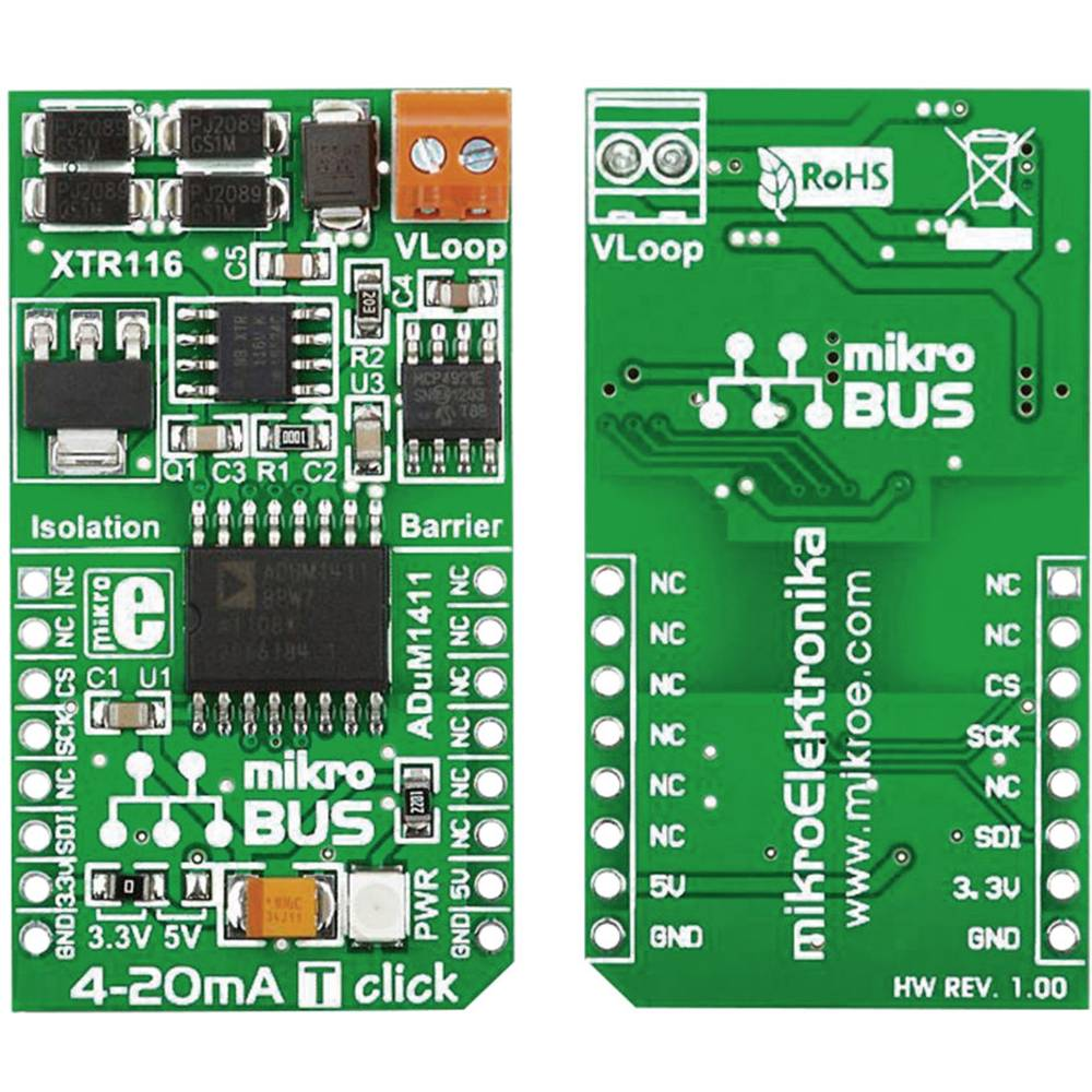4-20 mA T click MikroElektronika MIKROE-1296