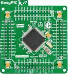 EasyPIC Fusion™ v7 MCU-card with dsPIC33FJ256GP710A