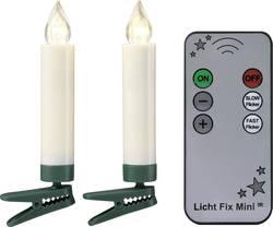 Trådløs juletræsbelysning Polarlite Stearinlys 10 LED Varm hvid 9 cm Indvendigt Batteridrevet