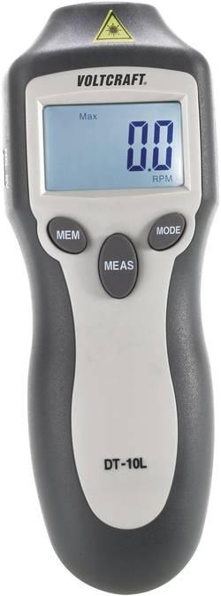VOLTCRAFT® DT-10L laserski merilnik vrtljajev 2 - 99 999 U/min, brez-dotični merilnik