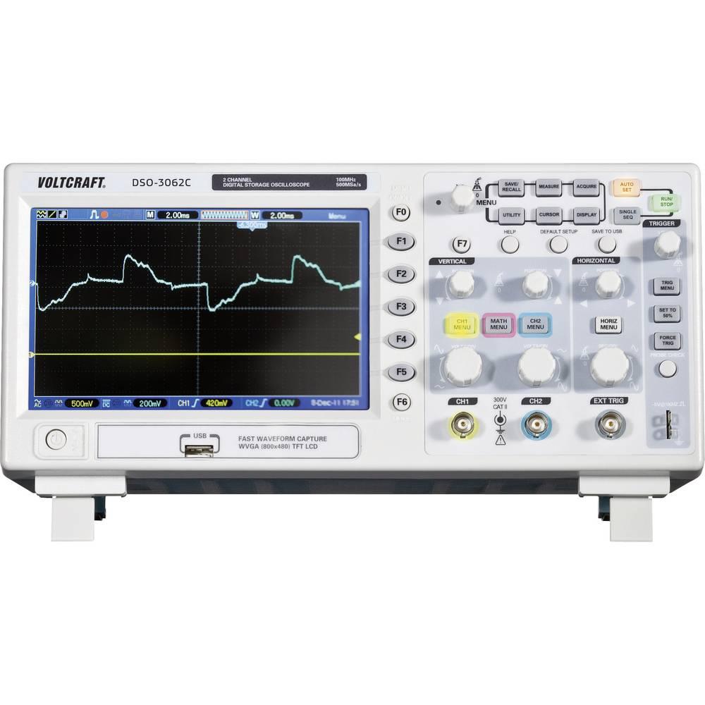 Voltcraft Dso 3062c 2 Channel Oscilloscope Digital Storage Adapter