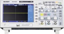 Digitalni osciloskop VOLTCRAFT DSO-1062D 60 MHz 2-kanala 500 MSa/s 512 kpts 8 Bit kalibriran po tovarniškem standardu digitalni