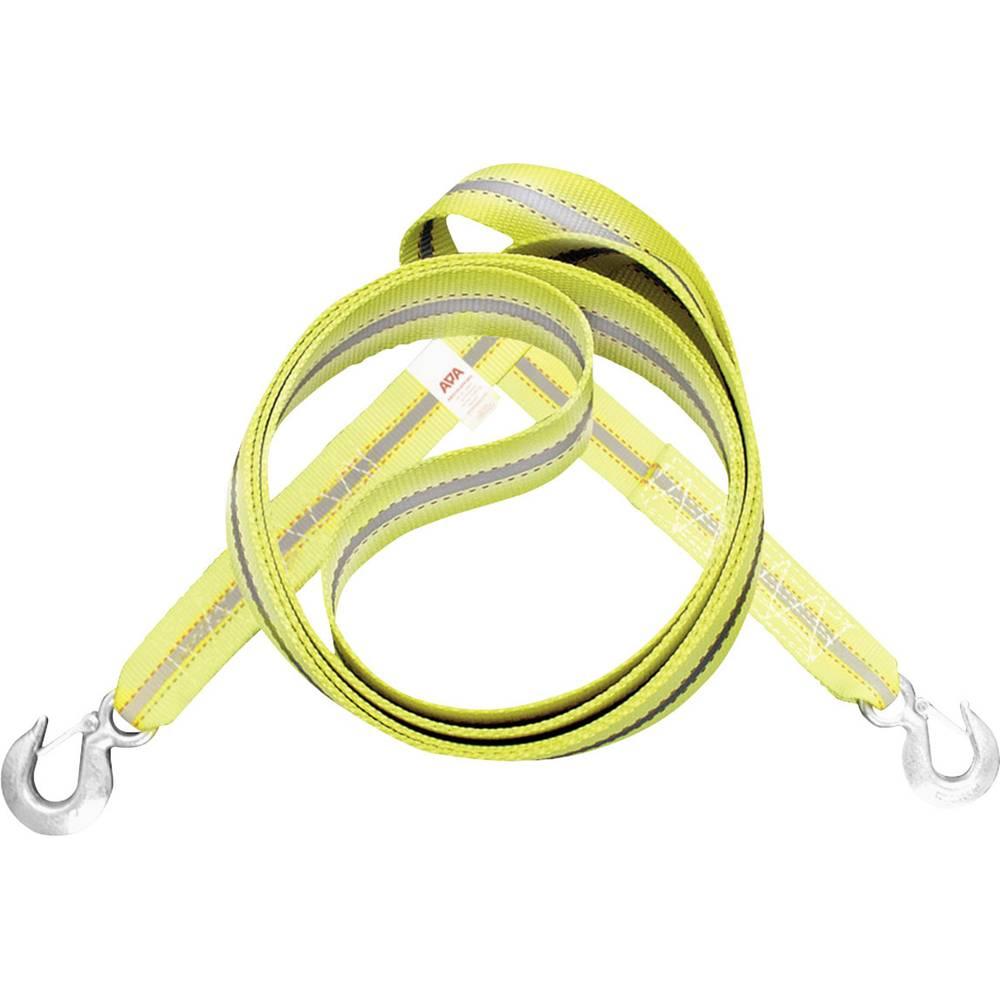 Uže za vuču APA žuto-srebrno (fluorescentno)