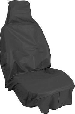 Sittskydd 1 st APA 31400 Fleece Svart Förarsäte