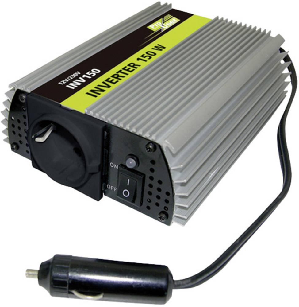 Inverter ProUser INV150N 150 W 12 V/DC Cigarettænder-stik