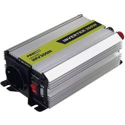 Razsmernik ProUser napetostni transformator 300W 12 na 230V 300 W 12 V/DC vtičnica za cigaretni vžigalnik, DC sponka