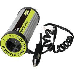 Razsmernik ProUser napetostni transformator za držalo pločevink 150W z USB 150 W 12 V/DC oblika pločevinke za držalo napitkov