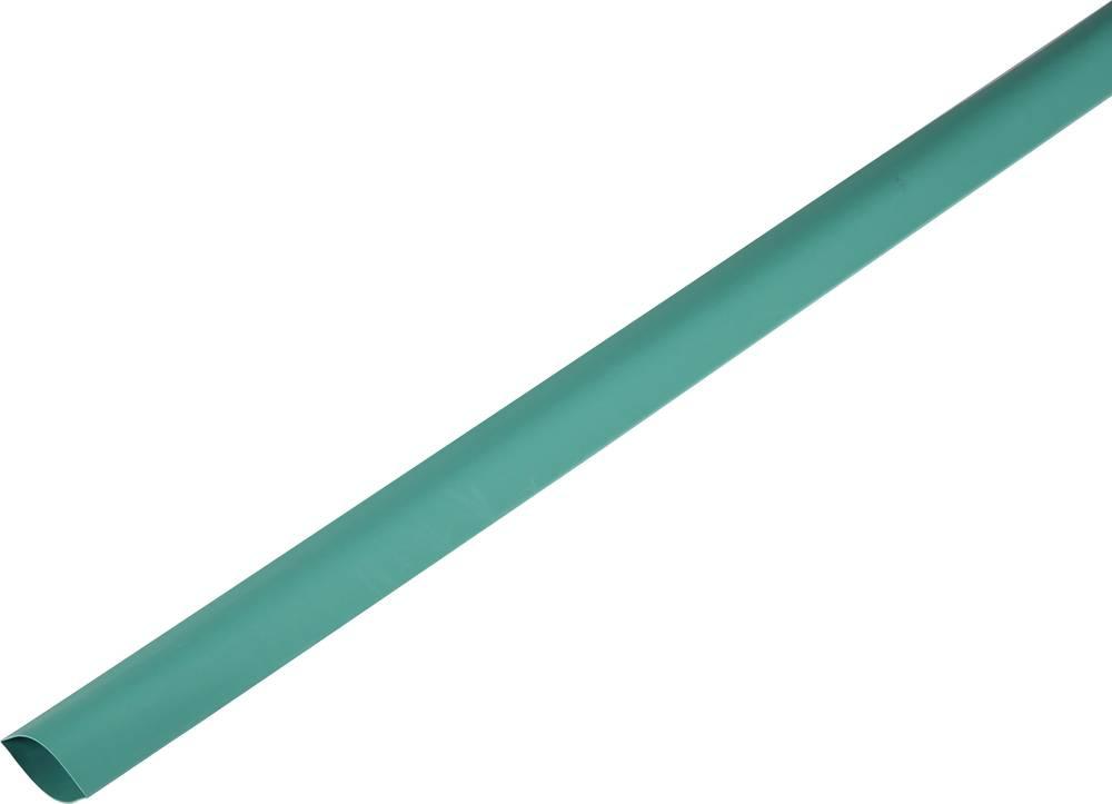 Skrčljiva cev, tankostenska pred/po krčenju: 80 mm/40 mm razmerje 2 : 1 zelena