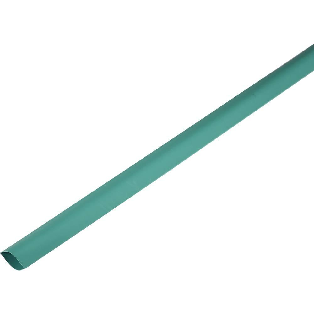 Skrčljiva cev, tankostenska pred/po krčenju: 100 mm/50 mm razmerje 2 : 1 zelena