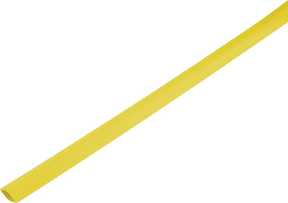 Skrčljiva cev, tankostenska pred/po krčenju: 21 mm/10 mm razmerje 2 : 1 rumena