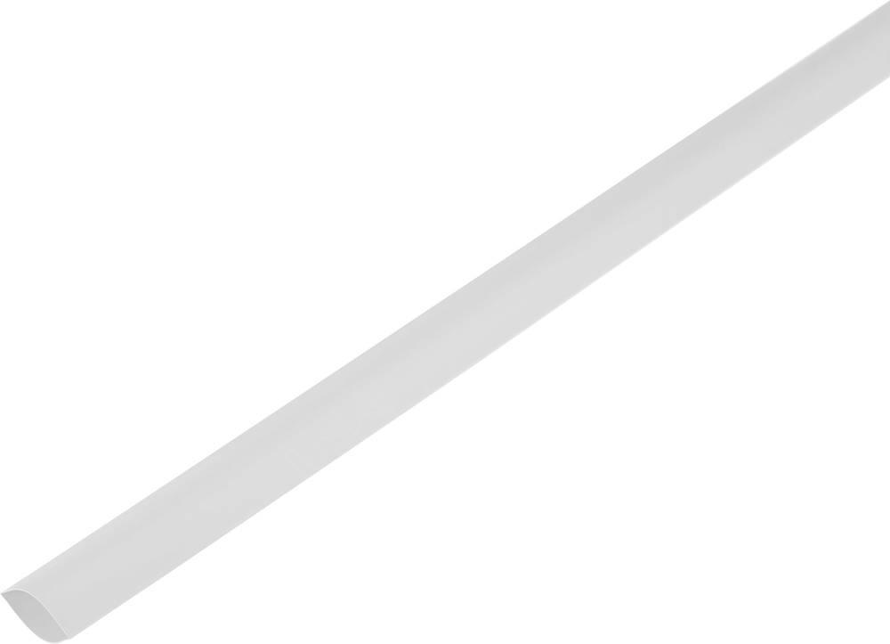Skrčljiva cev, tankostenska pred/po krčenju: 180 mm/90 mm razmerje 2 : 1 bela