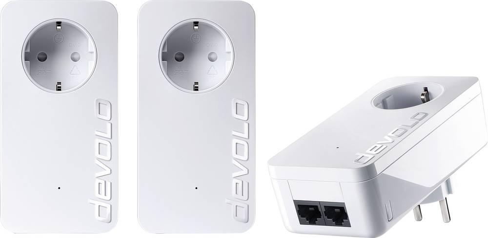 Powerline omrežni komplet 550 MBit / s Devolo DLAN duo 550 + 9304